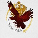 German eagle in nature and as symbol  by edsimoneit