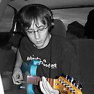 Blues Guitar by Michelle Hitt