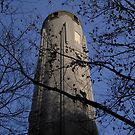 Water Tower - Fengyang Rd - Shanghai, China by John Meckley