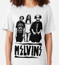 Melvins band Slim Fit T-Shirt