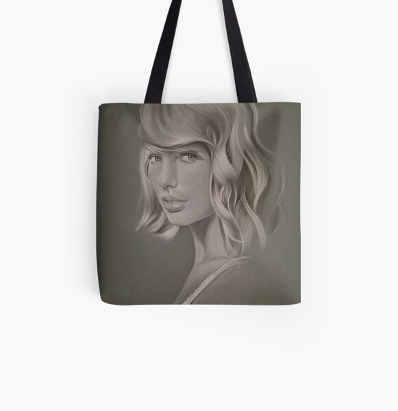 Hollywood Nightlife   All Over Print Tote Bag