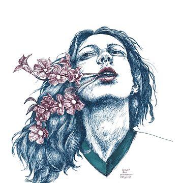 Word flowers by feigenherz