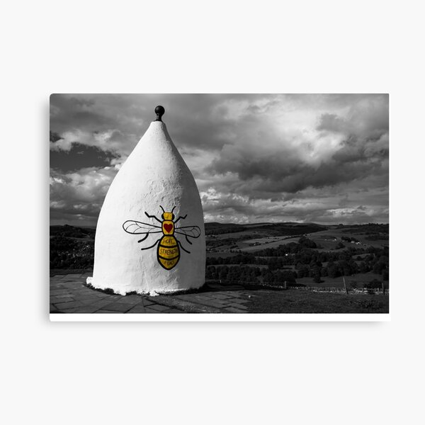 White Nancy Manchester Bombing Memorial Canvas Print