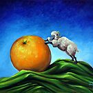 Sheep Still Life by Conni Togel