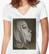 Vision Women's Fitted V-Neck T-Shirt
