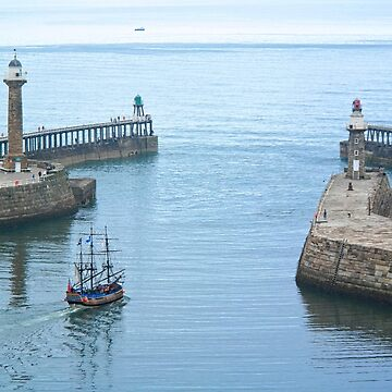 Whitby Harbour by zuluspice