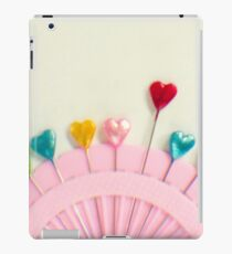 For the love of pins iPad Case/Skin