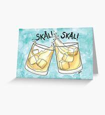 Skål! | Cheers! Greeting Card