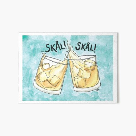 Skål! | Cheers! Art Board Print