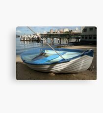 The Sunken Boat Canvas Print