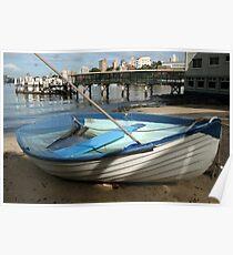 The Sunken Boat Poster