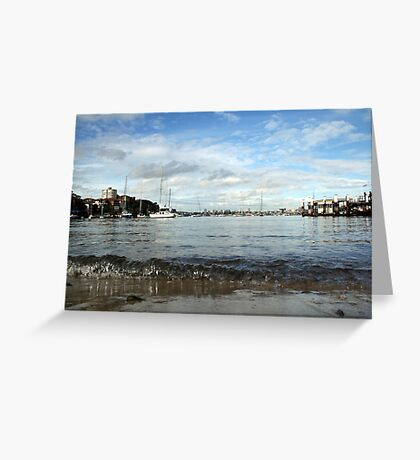 Neutral Bay Wharf Greeting Card