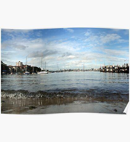 Neutral Bay Wharf Poster
