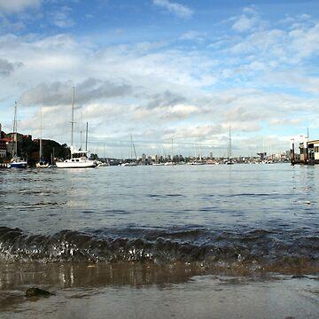 Neutral Bay Wharf by BryanFreeman