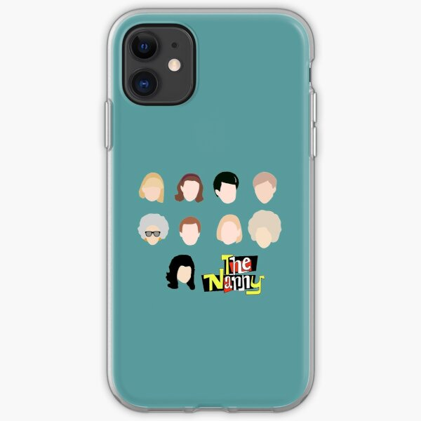 the nanny iPhone Soft Case
