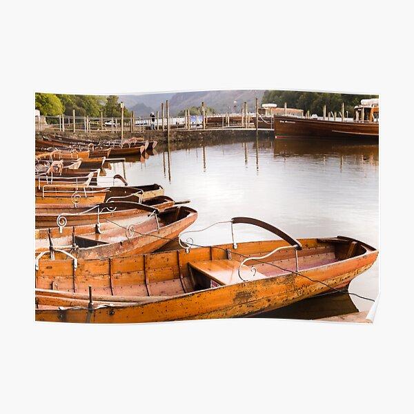 Derwentwater Boats Poster