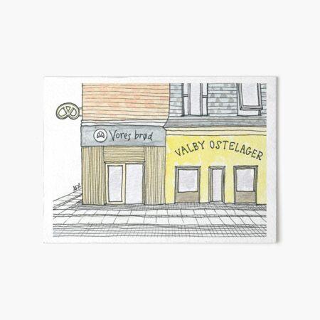 Bread & Cheese | Brød og Ost Art Board Print