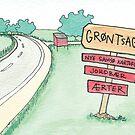 Vegetable Stand | Grøntsagsbod by Gina Lorubbio