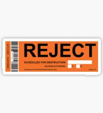 REJECTED Sticker