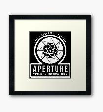 Aperture Science Innovators (Portal 2) Framed Print