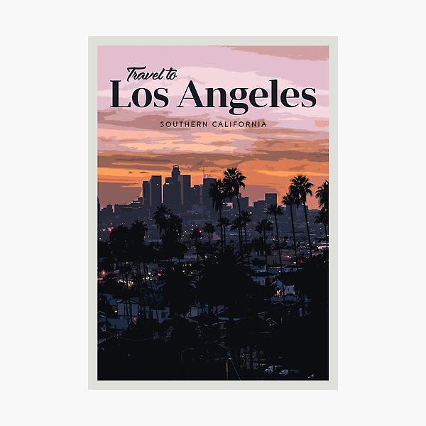 LA Photographic Print