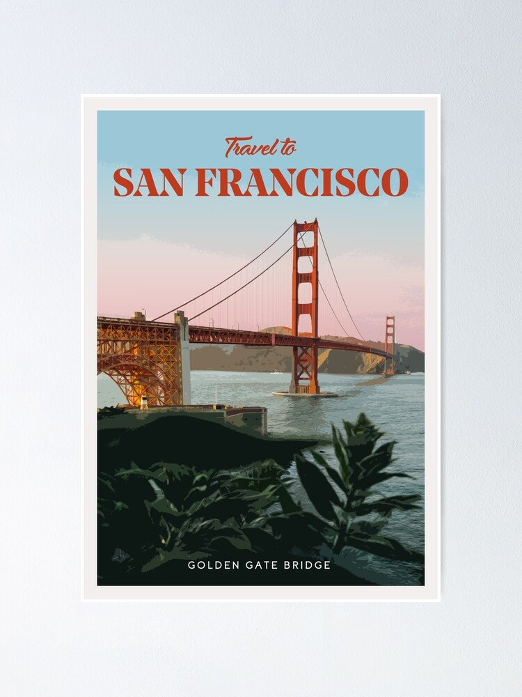 Alternate view of San Francisco Poster
