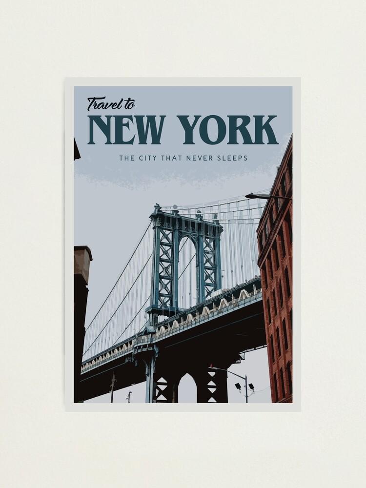 Alternate view of New York Photographic Print