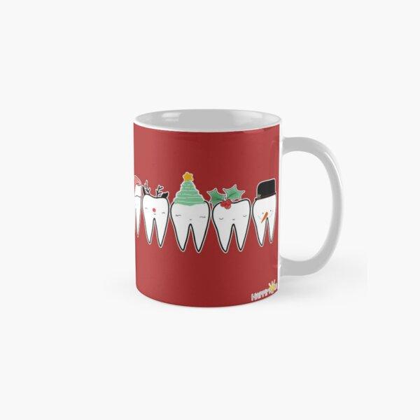 Escuadrón dental de Navidad Taza clásica
