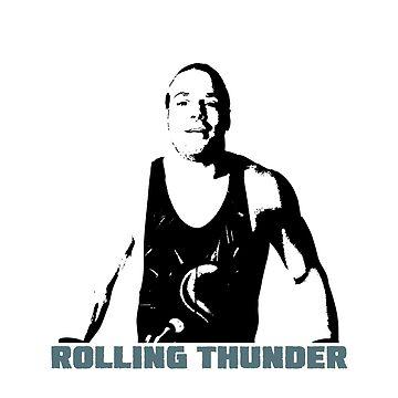 "Rob Van Dam - ""Rolling Thunder"" by DHink182"