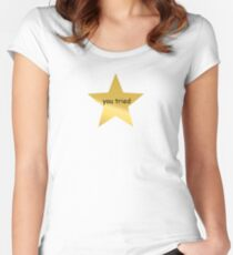 Gold Star Women's Fitted Scoop T-Shirt
