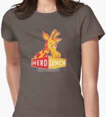 Nerd Lunch University Mascot Women's Fitted T-Shirt
