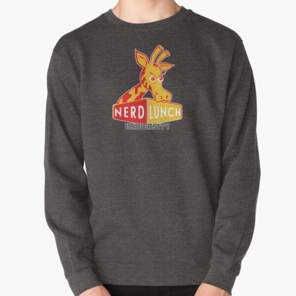 Nerd Lunch University Mascot Pullover Sweatshirt