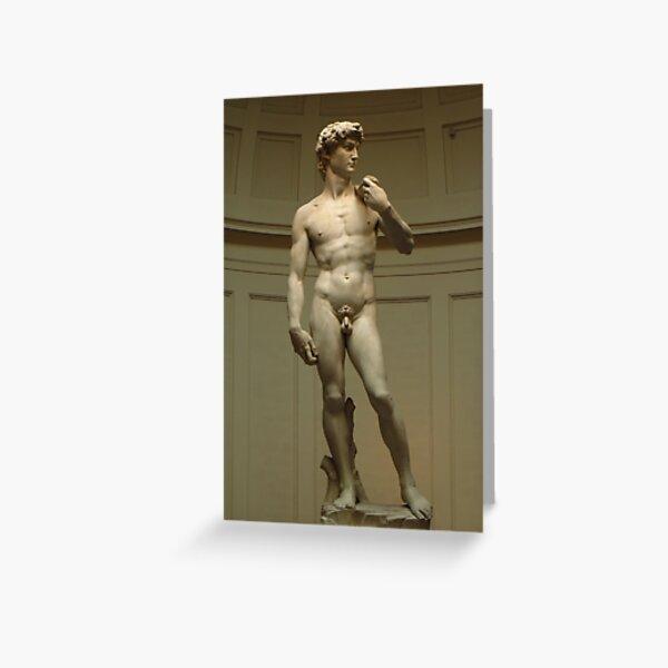 David; Michelangelo's Masterpiece Greeting Card