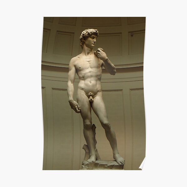 David; Michelangelo's Masterpiece Poster