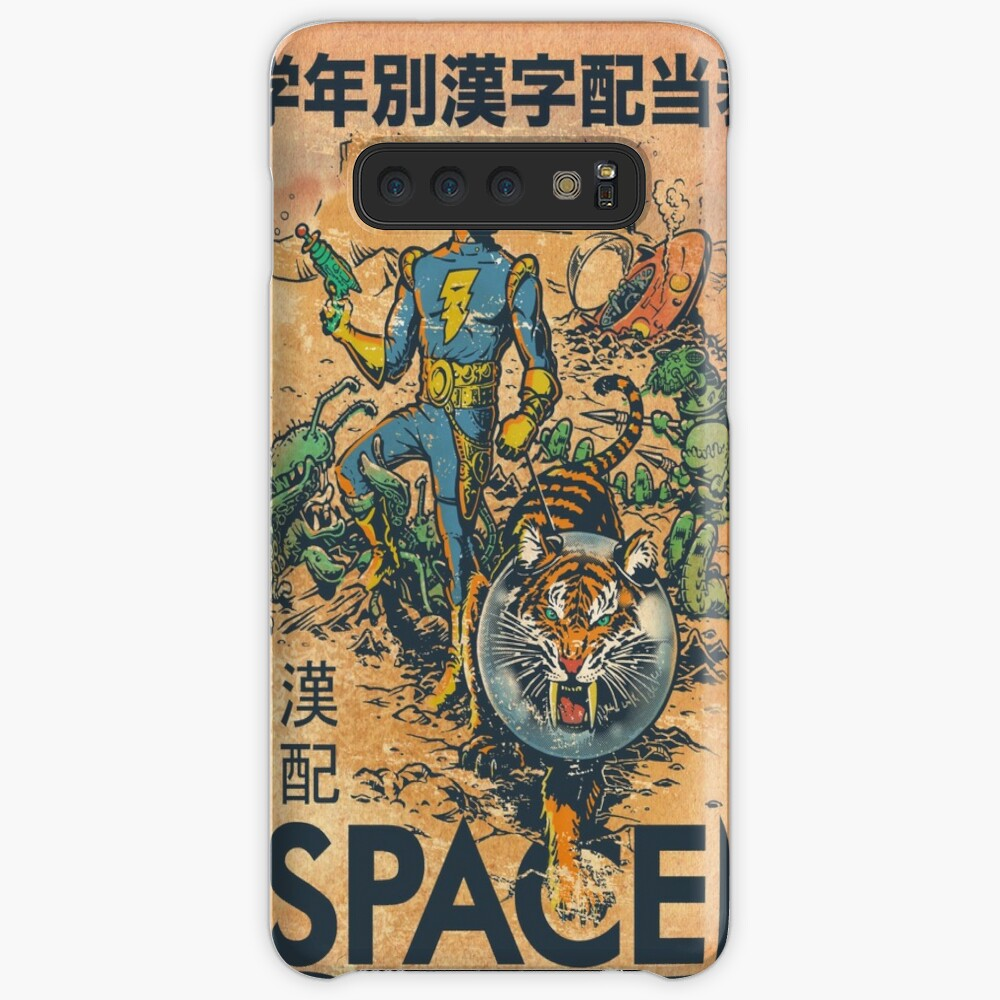CALVIN THE SPIFFY SPACEMAN iphone case