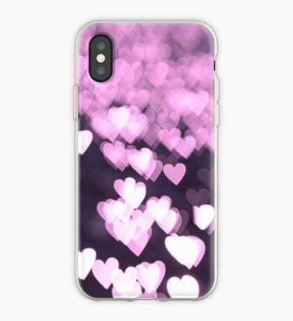 Hearts of Magenta - iPhone Case iPhone Case