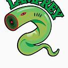 A lamprey by markdalderup