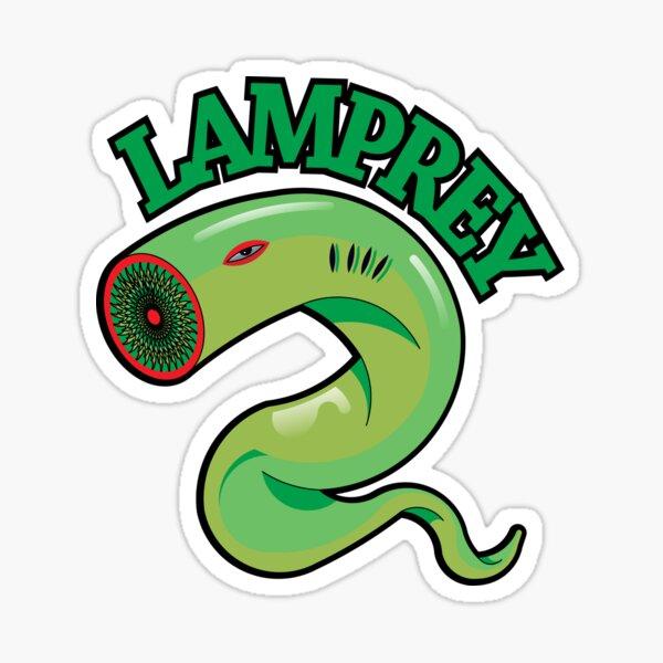 A lamprey Sticker