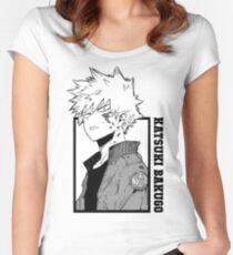 Katsuki Bakugo - Boku keine Heldenakademie Tailliertes Rundhals-Shirt