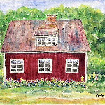 Swedish Cottage by CarolineLembke