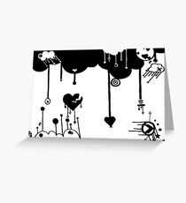 """""""Love In Motion"""" Greeting Card"""