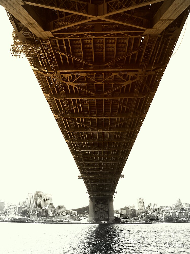 Under the Bridge... by JAZ art