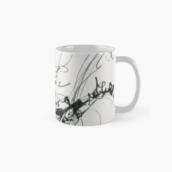 Black Tangle Classic Mug