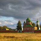 Spasso-Borodino Convent by Mikhail Kovalev