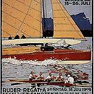 Munich Boat Races, 1909 by edsimoneit