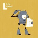 L is for Lostbot by Andrew Gruner