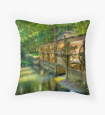 Winkton Weir Throw Pillow