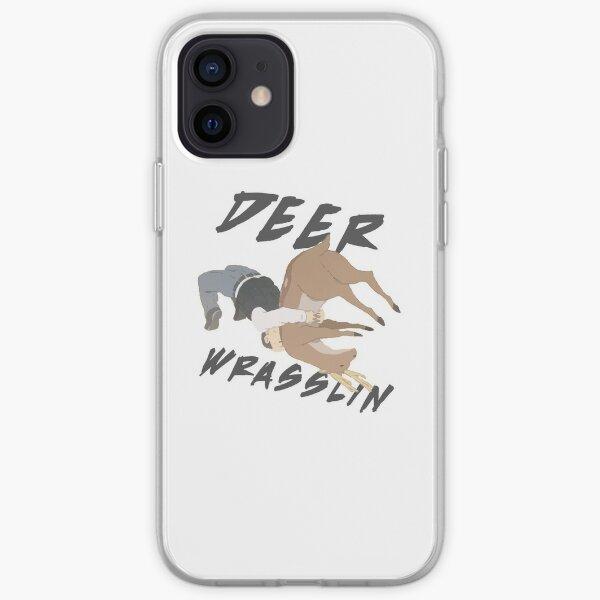 Deer Wrasslin' iPhone Soft Case