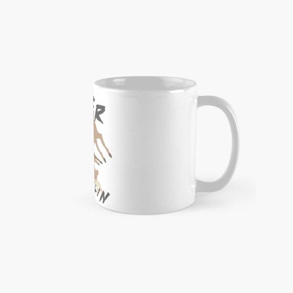 Deer Wrasslin' Classic Mug