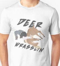 Deer Wrasslin' Unisex T-Shirt